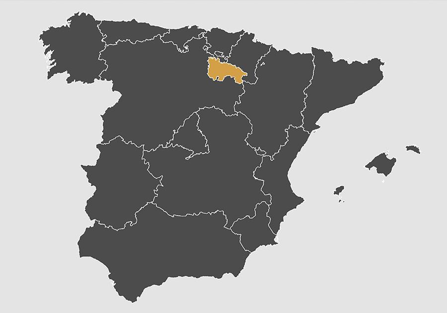 mapa rioja