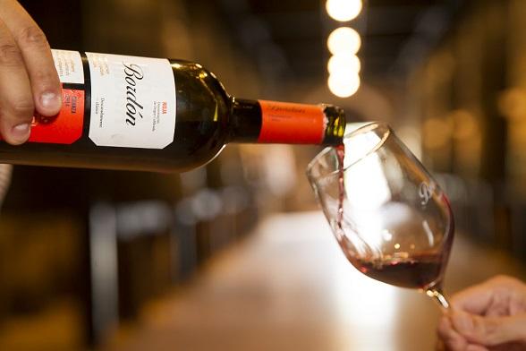 servir vino crianza bordon