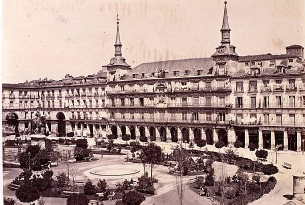 Plaza Mayor de Madrid 1920