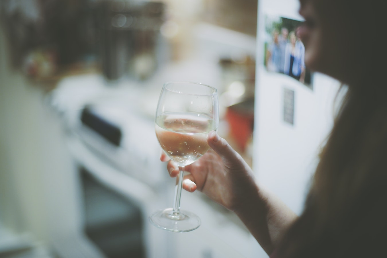 copa de vino cocina