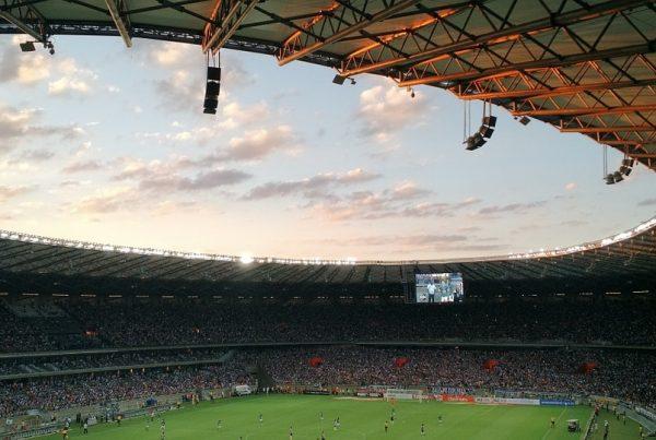 estadio futbol interior