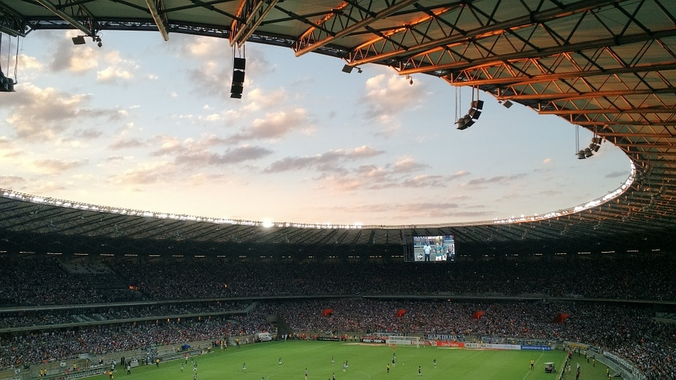 estadio futbol interior