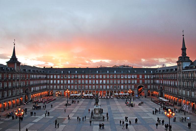 plaza mayo madrid actual