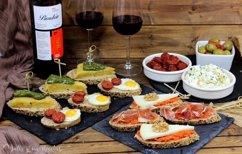 tapas tradicionales vinos bordon