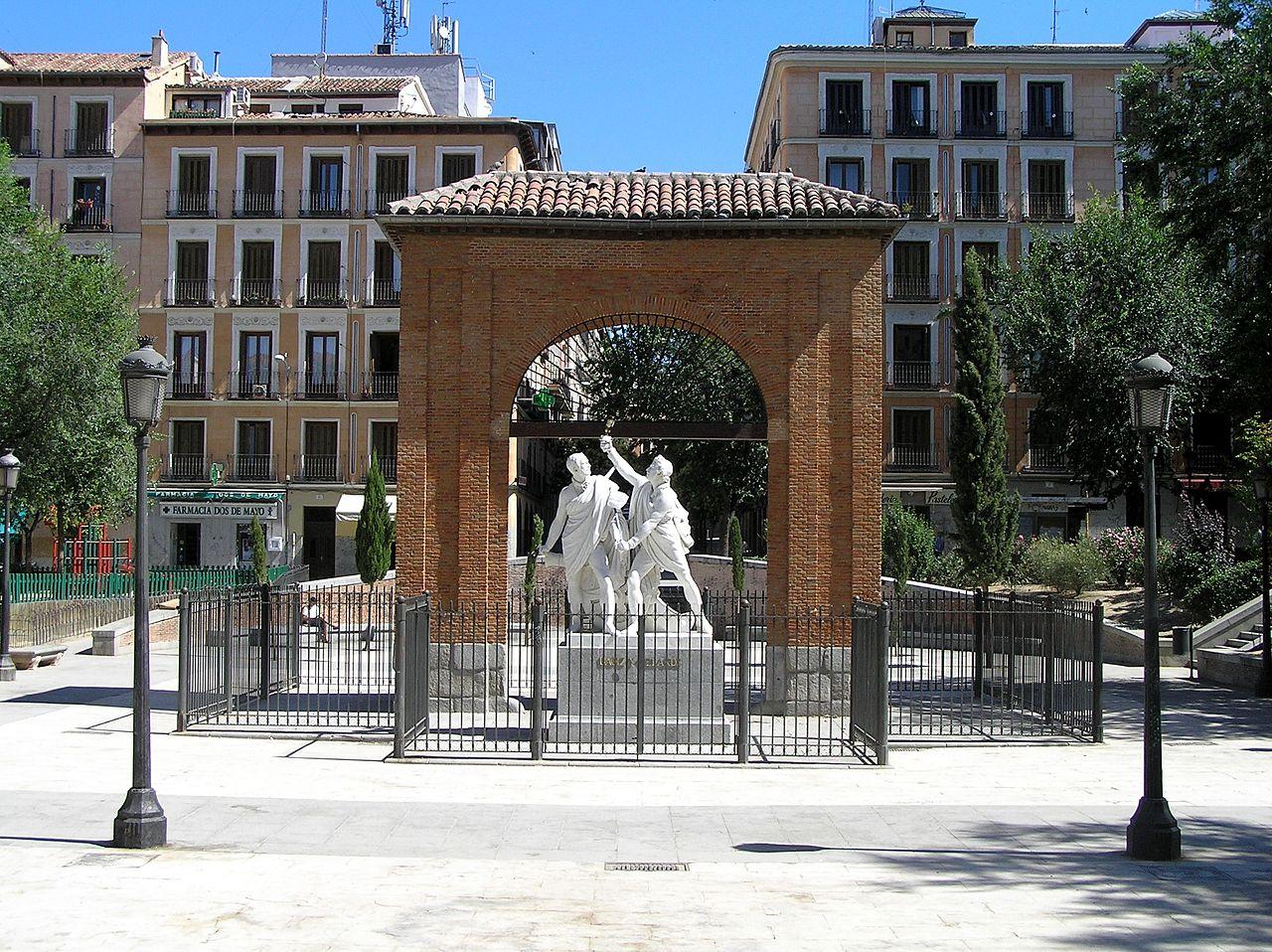 monumento daoiz y velarde