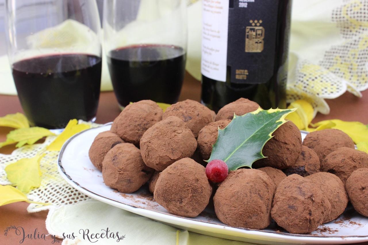 bordon crianza trufas vino