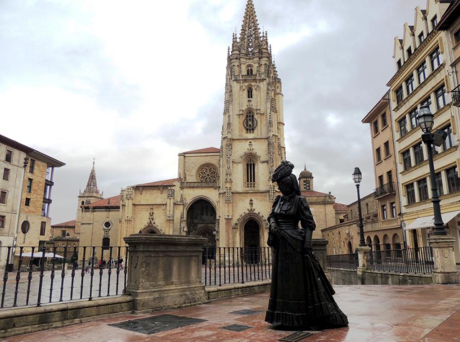plaza catedral oviedo