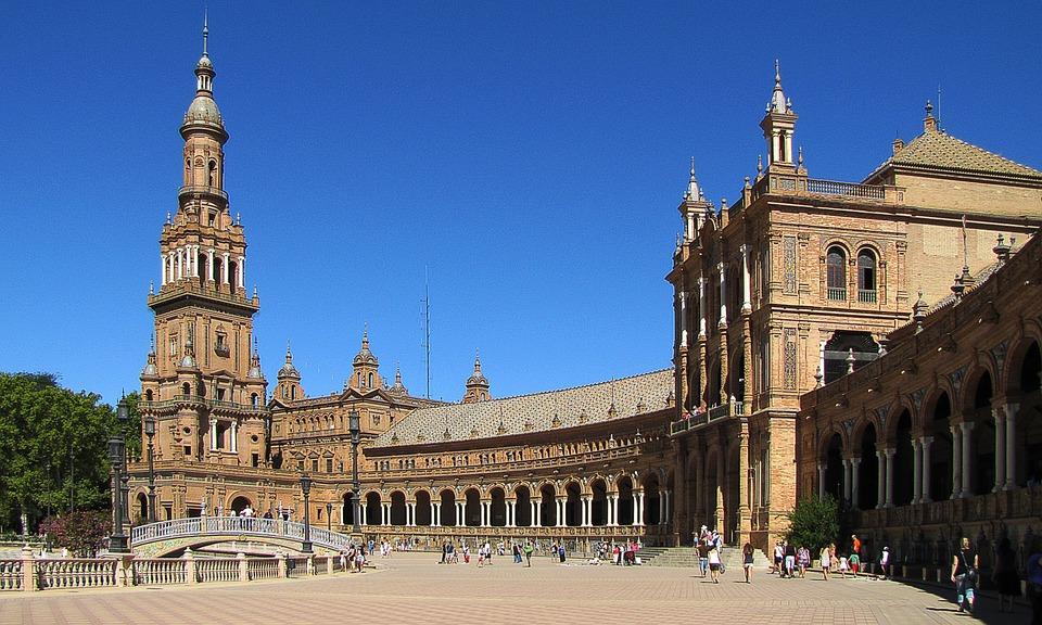 plaza espana sevilla
