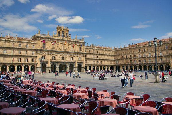 plaza mayor salamanca terrazas