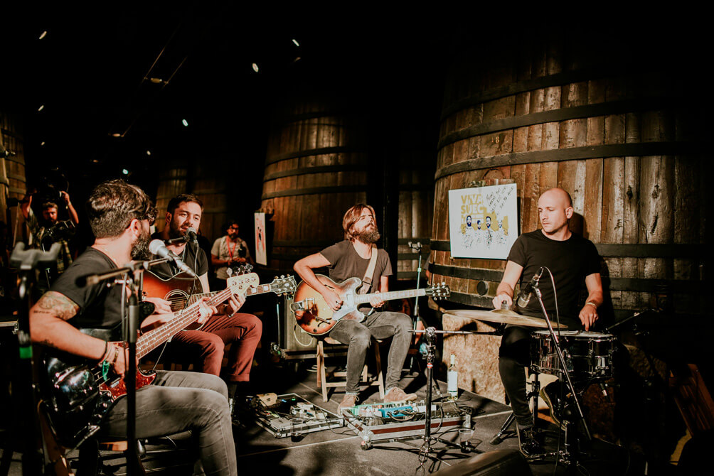 MUWI La Rioja Music Fest junto a Bordón en Bodegas Franco-Españolas el 27 y 28 de agosto