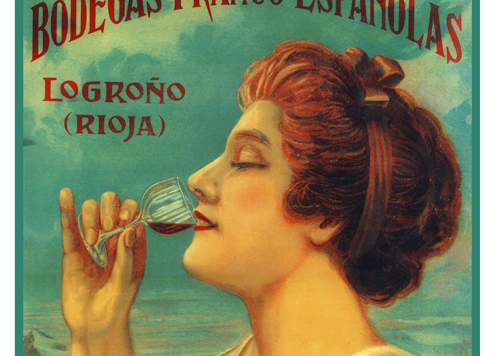 Carteles antiguos de vino de Bodegas Franco-Españolas