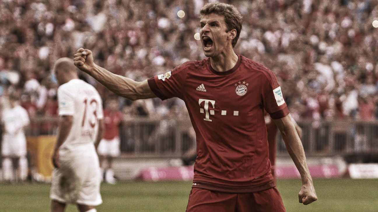 Thomas Müller: celebraciones clásicas