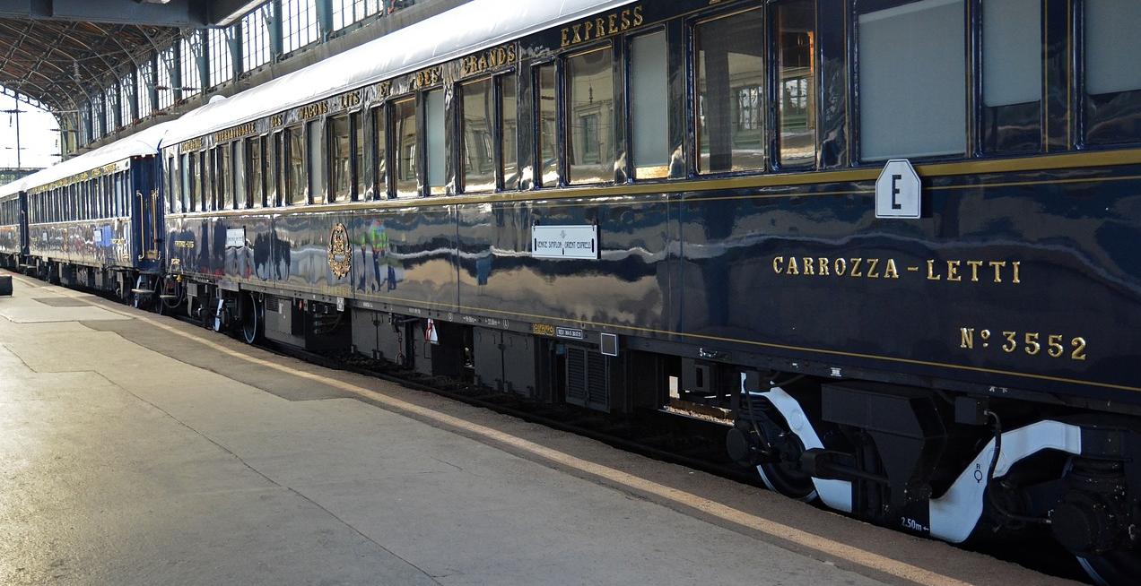 Diamante, un vino a bordo del tren Orient Express